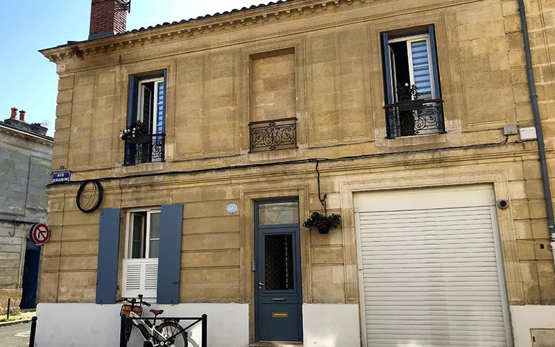 Maison Bordeaux Pey-Berland, façade