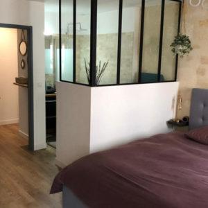 Appartement 74m2 à Bordeaux - Chambre