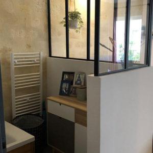 Appartement 74m2 à Bordeaux - Salle De Bain