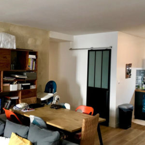 Appartement 74m2 à Bordeaux - Séjour